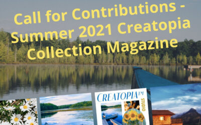Creatopia™ Call for Contributions for Summer 2021 – Lazy Lake Days